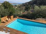 Villa Madreperla - A view of the pool from 1st floor
