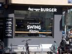 300m Area, Naschmarkt - Vegan Burger Swing