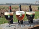 Tasting the world famous : Trappist West Vleteren (only 8 minutes drive from Skindles Guesthouse)