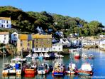 A view of picturesque Polperro taken just 2-3 minutes walk from Talland Cottage