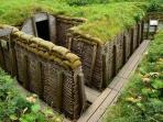 Visiting the trenches