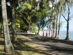 St Felix Beach 5mins drive or 20mins walk