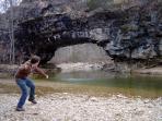 Clifty Creek Natural bridge, a wonderful hike.