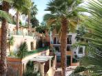 Apartment is set in beautifully landscaped gardens and natural springs.