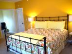 Another view of the yellow bedroom