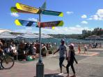 You're in the heart of Manly's attractions