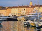 St Tropez, one of the celebrated beaches of the Mediterranean