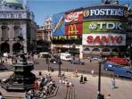 Famous Piccadilly Circus, just a few blocks away - full of activity & shops!