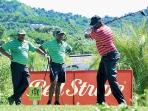 Play Golf with friends at the Constant Spring Golf Club