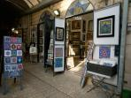 Come visit some of the Art Galleries in the Old City of Safed (Tzfat).