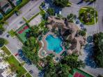 A bird's eye view of our resort amenities.