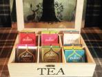 Pukka teas for all our guests.