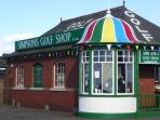 Famous golf shop