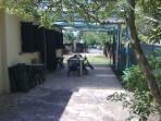 Villa Beach View, Marina di Pietrasanta, veranda