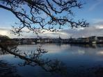 Stornoway from Lews Castle grounds