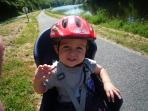 Cycle for miles along the towpath and take the whole family!