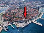 House/apartment in the heart of Biograd Old Town.