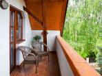 Willow apartment - balcony