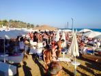 Spiaggia privata attrezzata b&b