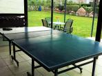 Communal games area: Table Tennis & Table Football