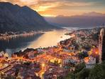 Bay of Kotor from San Giovanni