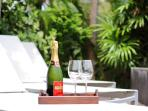 In our little paradise you have a good reason to enjoy chilled bottle of bubbly.