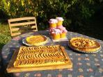 tartes et compotes de pommes.. 100 % bio !!!