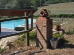 vista piscina