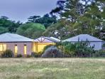 Enjoy the rural paddocks that back onto Manna Gums when you make it your base to explore the region