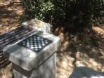Esterno : scacchiera