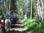 Horseback riding @ Canyons Village