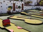 Mini Golf on Complex