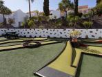 Mini Golf on Complex