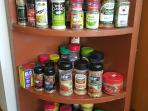 Over 40 spices