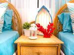 Dormitorio camas individuales, WC+Ducha