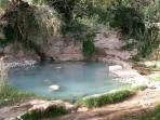 We're only 10 min by car from SEGESTA THERMAL FREE BATHS!  hot sulfur springs!