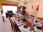 Formal Dining w/Living Room and Pool View