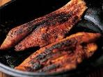 Signature blackened pickerel