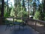 This is a view north from the deck near the living room