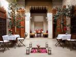A magical Riad  in the heart of Marrakech medin, only 5 minutes from the Main Sqaure.