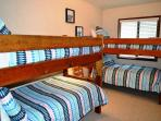 Third bedroom with two Twin bunk beds