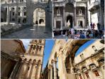 City Split is 8 km away, beautiful Diocletian palace, holes, old town...