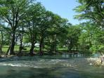 Direct Access into the Guadalupe River