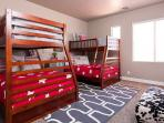 4th bedroom - twins over full (2 sets)