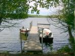 A 17 canoe is included with rental and other watercraft rentals are available