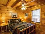 Bedroom #2 features queen bed and flatscreen tv!