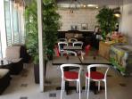 Tazinah Internet café spacious and clean