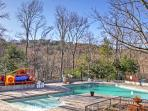 Access to community pools comes with your stay at this Gatlinburg vacation rental house.