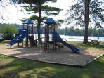 Park, swimming area, and fishing located <1/2 mile away