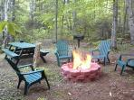 Outdoor Fire Pit at Big Big Wilson camp